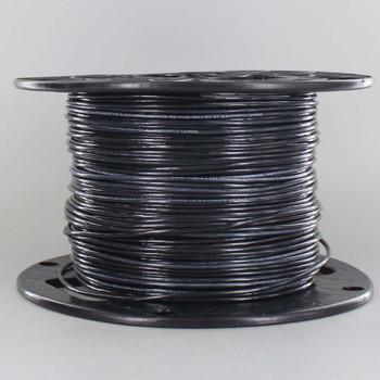 18/1 Black Single Conductor FEP 200 Degree Wire