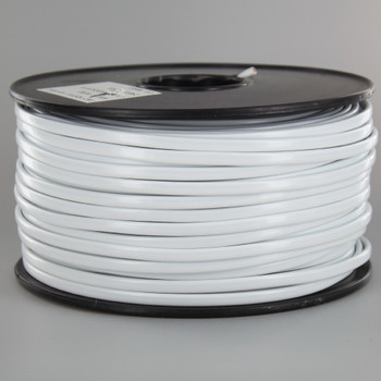 18/2 NISPT-1 White PVC Insulated Parallel Flexible Cord.