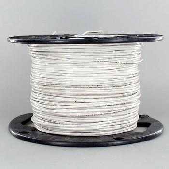 18/1 SF1 White Single Conductor High Heat 200 Degree Wire