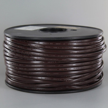 18/2 NISPT-1 Brown PVC Insulated Parallel Flexible Cord.