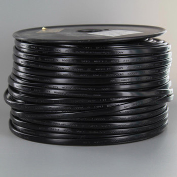 18/2 NISPT-2 Black PVC Insulated Parallel Flexible Cord.