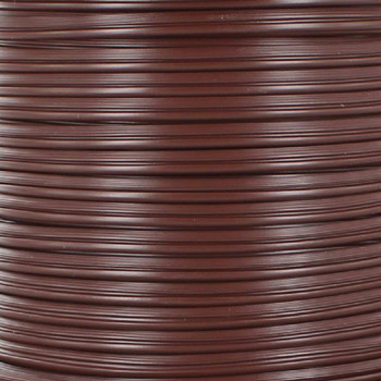 18/2 SPT1 - Brown PVC JACKET - STRANDED COPPER - LAMP AND LIGHTING WIRE