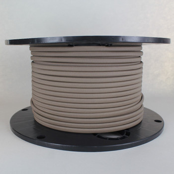 18/2 SPT-1 Chestnut Nylon Over Braid White 105 Degree Wire