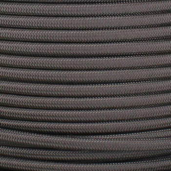 18/2 SPT1-B Charcoal  Nylon Fabric Cloth Covered Lamp and Lighting Wire
