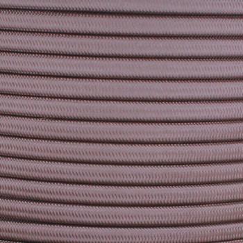 18/2 SPT-1 Cappuccino Nylon Over Braid White 105 Degree Wire
