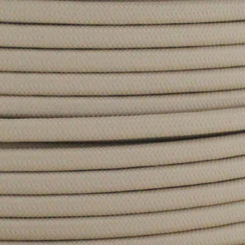 18/2 SPT1-B Beige Nylon Fabric Cloth Covered Lamp and Lighting Wire