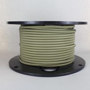 18/2 SPT-1 Fern Nylon Over Braid White 105 Degree Wire