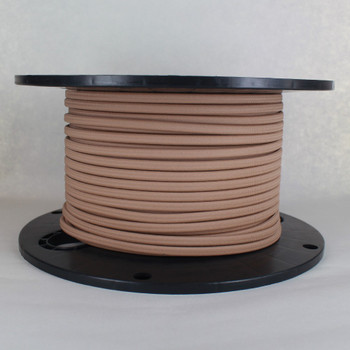 18/2 SPT-1 Hazelnut Nylon Over Braid White 105 Degree Wire