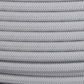18/2 SPT1-B Silver Nylon Fabric Cloth Covered Lamp and Lighting Wire