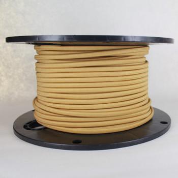 18/2 SPT-1 Golden Grass Nylon Over Braid White 105 Degree Wire