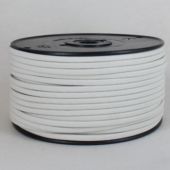 18/2 SPT-1 Oatmeal Nylon Over Braid White 105 Degree Wire