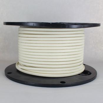 18/2 SPT-1 Cream Nylon Over Braid White 105 Degree Wire