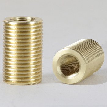 1/8ips Female X 3/8ips Male 1in Long Threaded Reducer/ Coupling.