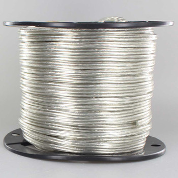 18/2 SPT1 Transparent Clear PVC Jacket - Tinned Stranded Copper Parallel  Lamp and Lighting Wire