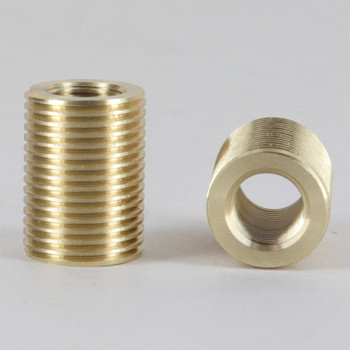 1/8ips Female X 3/8ips Male 7/8in Long Fully Threaded Reducer/ Coupling.