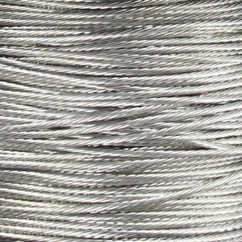 18/1 16-STR Bare Silver Ground Wire
