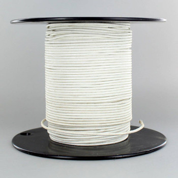 18/1 White Single Conductor TFFN 105 Degree Wire