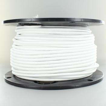 250Ft Spool WHITE NYLON COVERED WIHOV3X75B