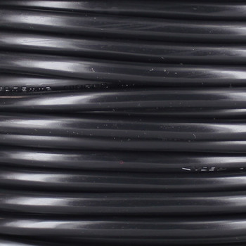 Black Round 3 X 0.75mm HO5VV-F Harmonized PVC Jacketed Light Duty Flexible Cord