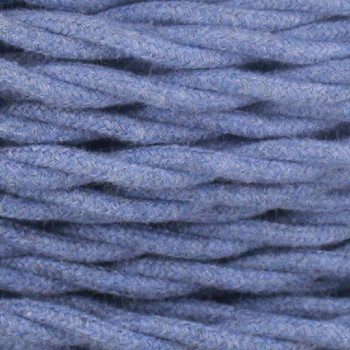 18/2 Twisted Denim Cotton Cloth Covered Wire