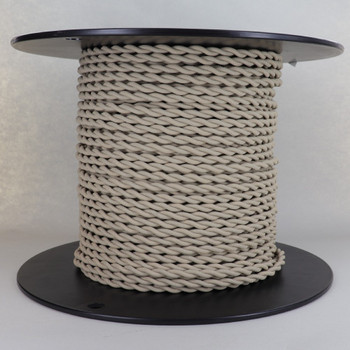 18/2 AWG SPT-1 Type - BEIGE - UL Recognized Cloth Covered Twisted Wire.
