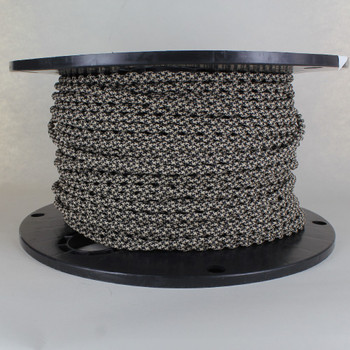 18/2 AWG - SPT-1 BLACK/BEIGE HOUNDS TOOTH PATTERN TWISTED FABRIC CLOTH COVERED LAMP WIRE