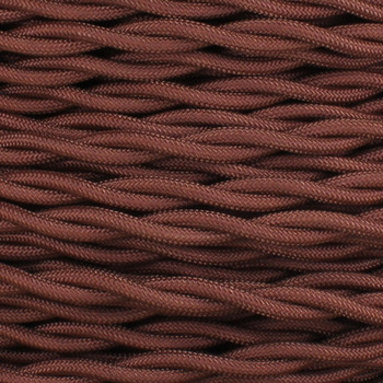 18/2 AWG SPT-1 Type - Copper - UL Recognized Cloth Covered Twisted Wire.