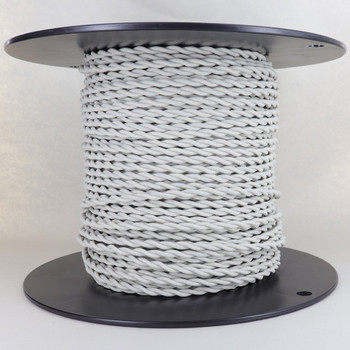 18/2 AWG SPT-1 Type - Oatmeal - UL Recognized Cloth Covered Twisted Wire.