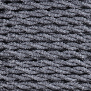 18/2 AWG SPT-1 Type - MINERAL - UL Recognized Cloth Covered Twisted Wire.