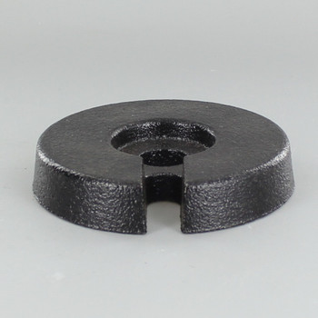 3-3/4in. Cast Iron Weight with 9/16 Slip Through Center Hole