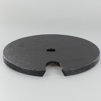 6in. Cast Iron Weight with 9/16in. Slip Through Center Hole