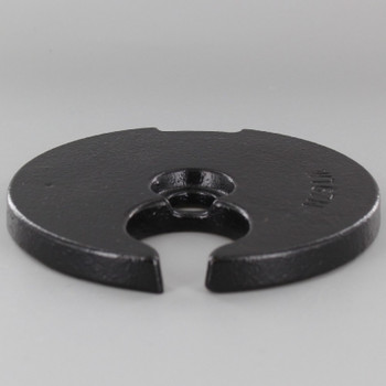 5in. Cast Iron Weight with 9/16 Slip Through Center Hole