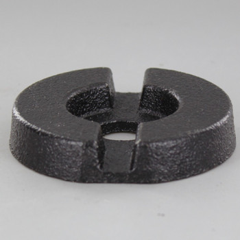 2-1/2in. Cast Iron Weight with 9/16 Slip Through Center Hole
