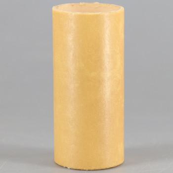 2in. Paper/Fiber E-12 Candelabra Base Candle Socket Cover - Antique