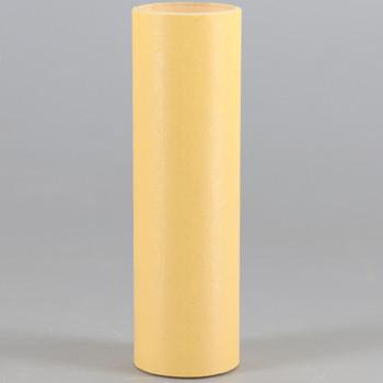 3in. Paper/Fiber E-12 Candelabra Base Candle Socket Cover - Antique