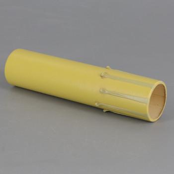 Import - 6in. Long Paper/Fiber E-12 Candelabra Base Candle Socket Cover - Antique Drip