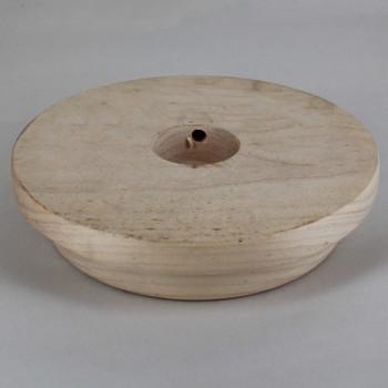 3in. Raw Wood Base