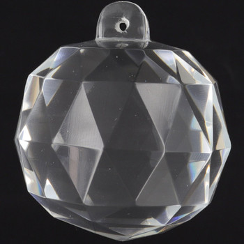 50mm. (2in) Crystal Cut Clear Ball