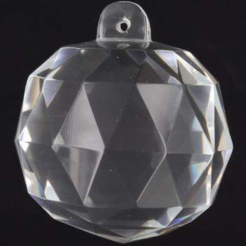 40mm. (1-9/16in) Crystal Cut Clear Ball