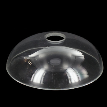 5in. Crystal Plain Blank Bobesche with 1in. Hole