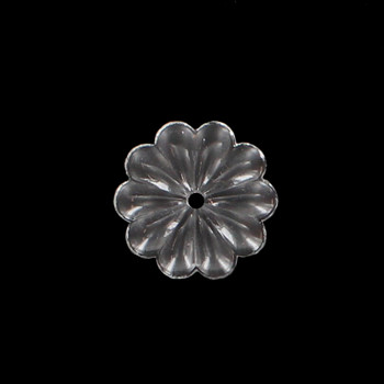 30mm. Crystal Rosette with Center Hole