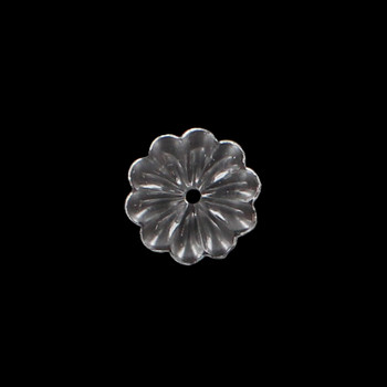 25mm. Crystal Rosette with Center Hole
