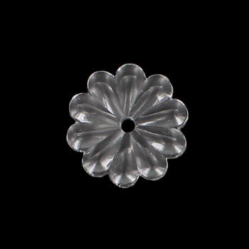 35mm. Crystal Rosette with Center Hole