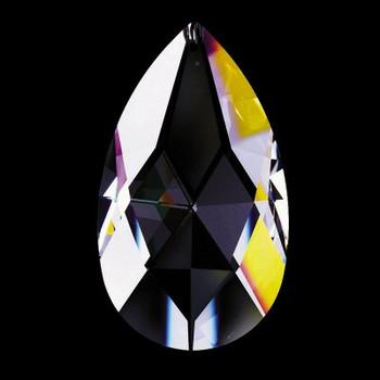 50mm. Strass Swarovski Crystal Pear Drop