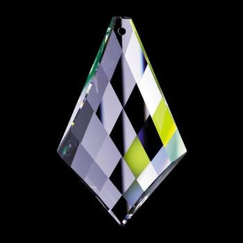 50mm. Strass Swarovski Crystal Kite Drop with Pin Hole