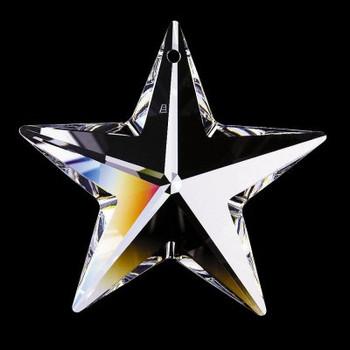 20mm. Strass Swarovski Crystal Star with Pin Hole