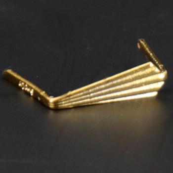 12mm. Gold Top Clip
