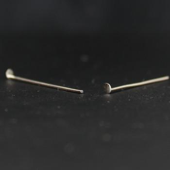 1in. Nickel Crystal Pin