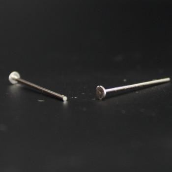3/4in. Nickel Crystal Pin