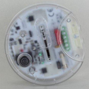 In-Line Universal Push Button Table/Floor Dimmer - Clear